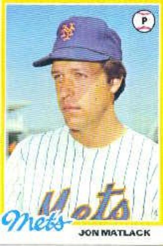 Photo of 1978 Topps #25 Jon Matlack