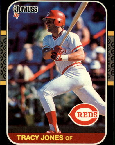 Photo of 1987 Donruss #413 Tracy Jones