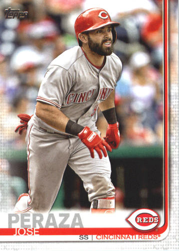 Photo of 2019 Topps #590 Jose Peraza