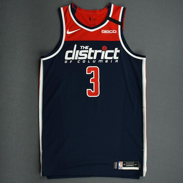 Image of Bradley Beal - Washington Wizards - Game-Issued Statement Edition Jersey - 2019-20 NBA Season