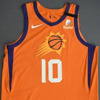 Ty Jerome - Phoenix Suns - Game-Worn Statement Edition Jersey - Dressed, Did Not Play (DNP) - 2019-20 NBA Season Restart with Social Justice Message