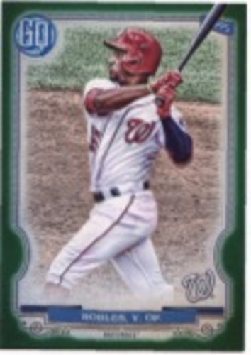 Photo of 2020 Topps Gypsy Queen Green #22 Victor Robles