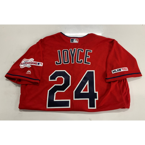 Photo of Team Issued Alternate Red Jersey: Matt Joyce #24