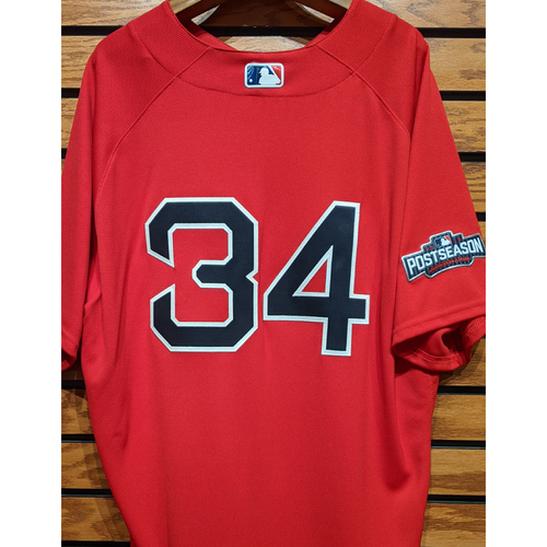 Photo of #34 Team Issued Red Home Alternate Jersey