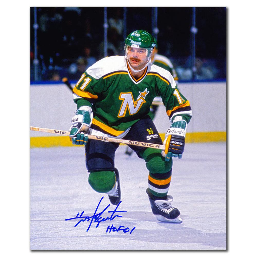 Mike Gartner Minnesota North Stars HOF Autographed 8x10