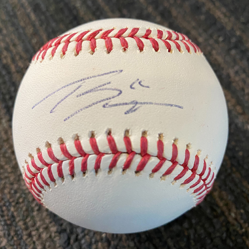 Photo of Tanner Scott:  Baseball - Autographed