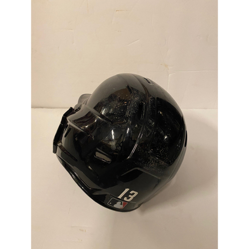 Photo of Ronald Acuna Jr. 2020 Game Used Playoff Helmet - Worn 10/8/20 NLDS, 10/12/20 NLCS