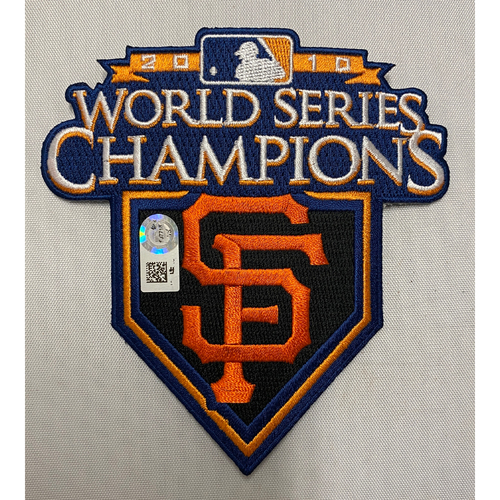 Photo of 2010 World Series Champions Team Issued Patch