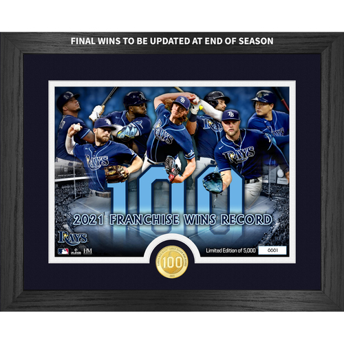 Photo of Tampa Bay Rays Franchise Wins Record Bronze Coin Photo Mint