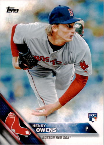Photo of 2016 Topps #109 Henry Owens RC