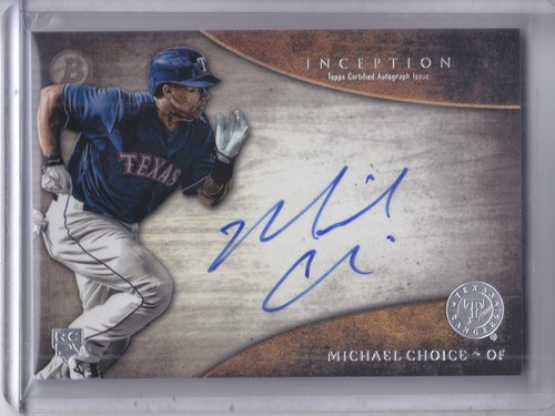 Photo of 2014 Bowman Inception Rookie Autographs #RAMC Michael Choice