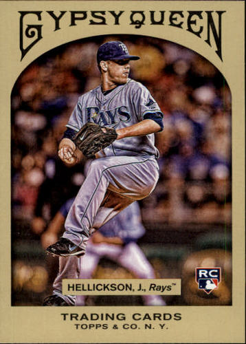 Photo of 2011 Topps Gypsy Queen #264 Jeremy Hellickson RC