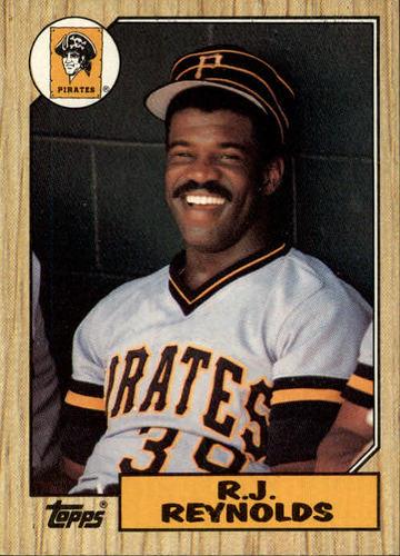 Photo of 1987 Topps #109 R.J. Reynolds