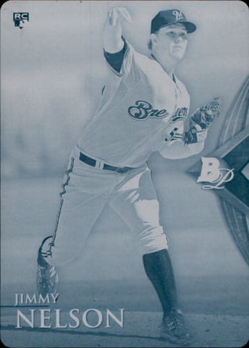 Photo of 2014 Bowman Platinum Printing Plates Cyan #88 Jimmy Nelson