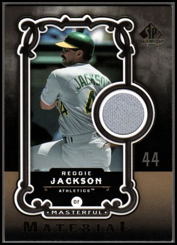 Photo of 2007 SP Legendary Cuts Masterful Materials #RJ Reggie Jackson