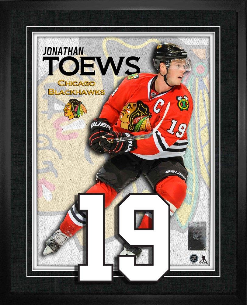 Jonathan Toews - Chicago Blackhawks Numbers Frame