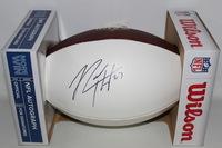 NFL - GIANTS RODNEY HAMPTON SIGNED PANEL BALL