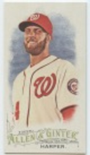 Photo of 2016 Topps Allen and Ginter Mini #254 Bryce Harper