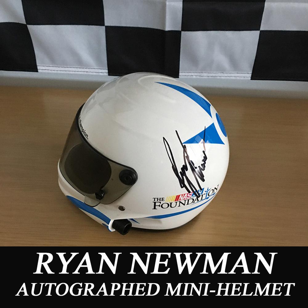 NASCAR's Ryan Newman autographed Mini-Helmet!