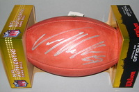 NFL - BRONCOS VON MILLER SIGNED AUTHENTIC FOOTBALL