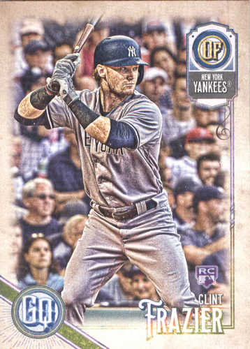 Photo of 2018 Topps Gypsy Queen #26 Clint Frazier RC
