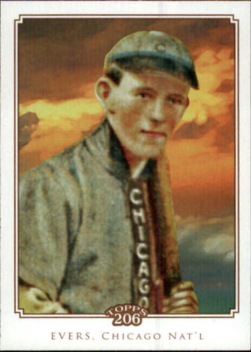 Photo of 2010 Topps 206 #277 Johnny Evers-- Hall of Fame Class of 1946