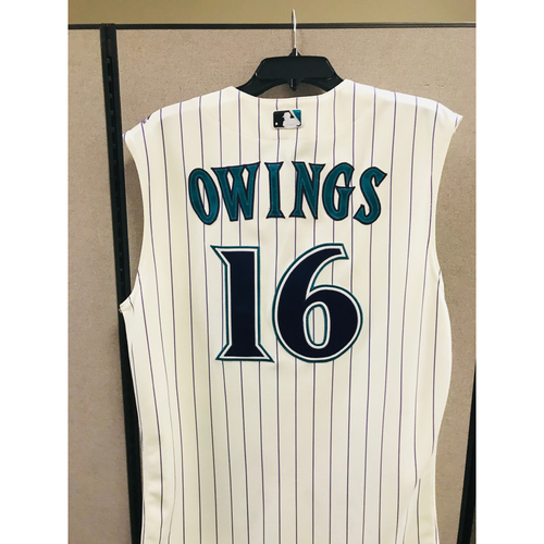 Photo of 2017 Chris Owings Team-Issued Jersey