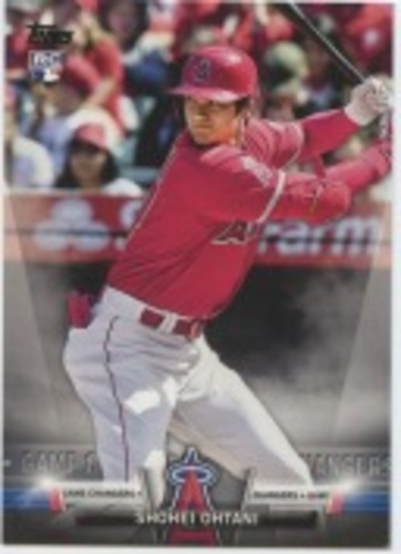 Photo of 2018 Topps Update Salute #S39 Shohei Ohtani