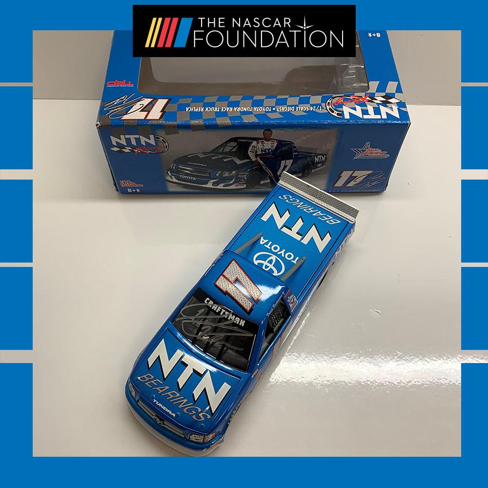 NASCAR's David Reutimann autographed NTN Bearings Diecast!