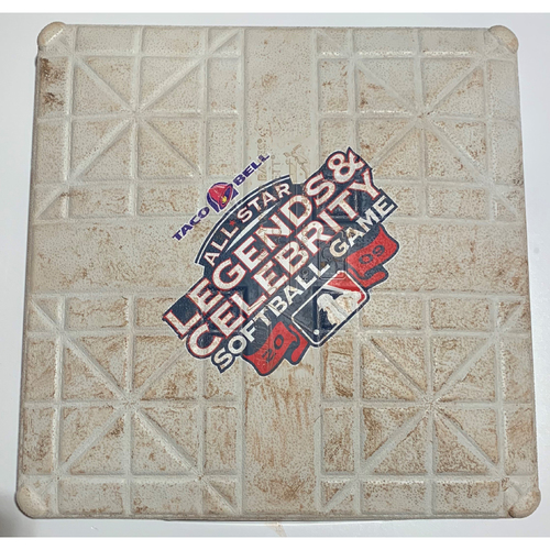 Photo of 2009 All-Star Legends & Celebrity Softball Game Used 2nd Base - July 12th
