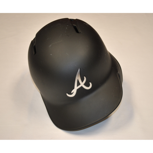 "Photo of Francisco ""CISCO"" Cervelli Atlanta Braves Game-Used 2019 Players' Weekend Helmet"