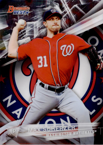 Photo of 2016 Bowman's Best #31 Max Scherzer