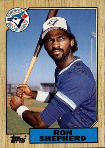 Photo of 1987 Topps #643 Ron Shepherd