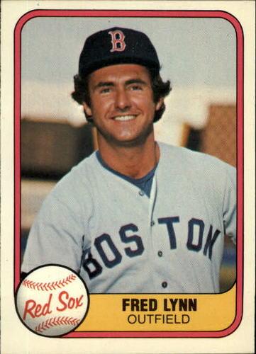 Photo of 1981 Fleer #223 Fred Lynn