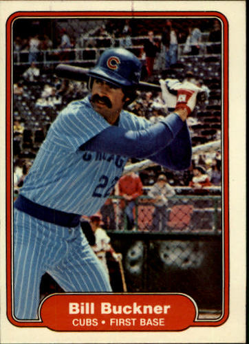 Photo of 1982 Fleer #589 Bill Buckner