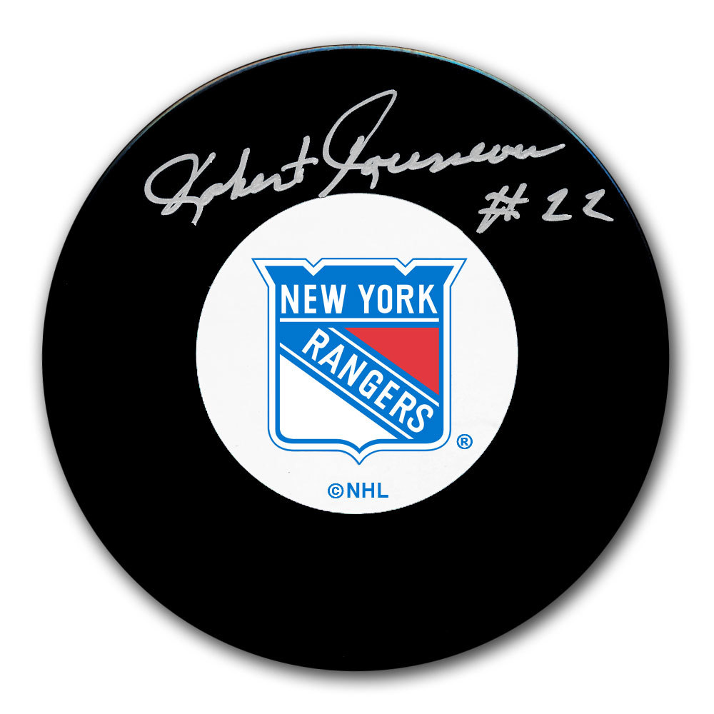 Bobby Rousseau New York Rangers Autographed Puck