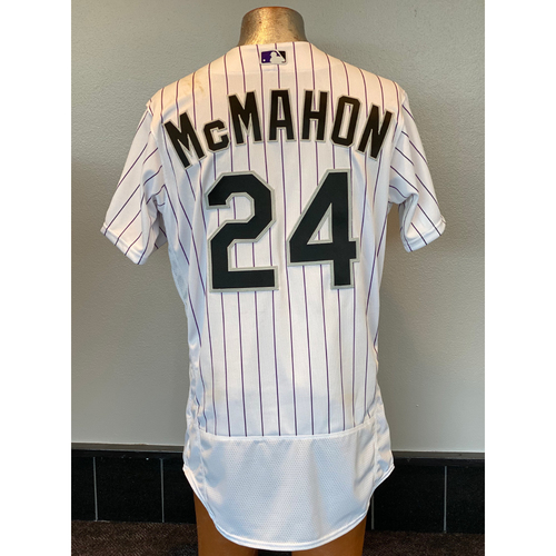 Photo of Colorado Rockies Team-Issued 2020 Home Opener Jersey: Ryan McMahon
