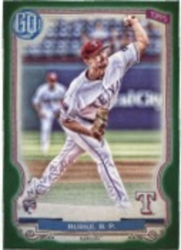 Photo of 2020 Topps Gypsy Queen Green #28 Brock Burke
