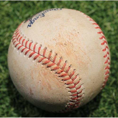 Photo of Game-Used Baseball: Steven Brault 255th Career Strikeout (PIT @ KC 9/11/20)