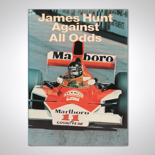Photo of James Hunt Signed Autobiography