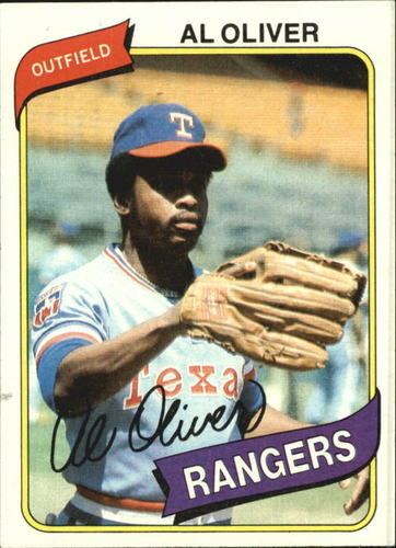 Photo of 1980 Topps #260 Al Oliver
