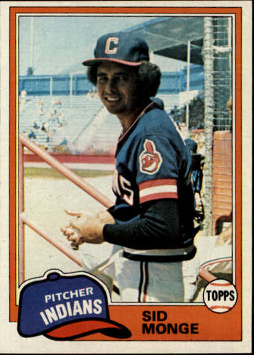 Photo of 1981 Topps #333 Sid Monge