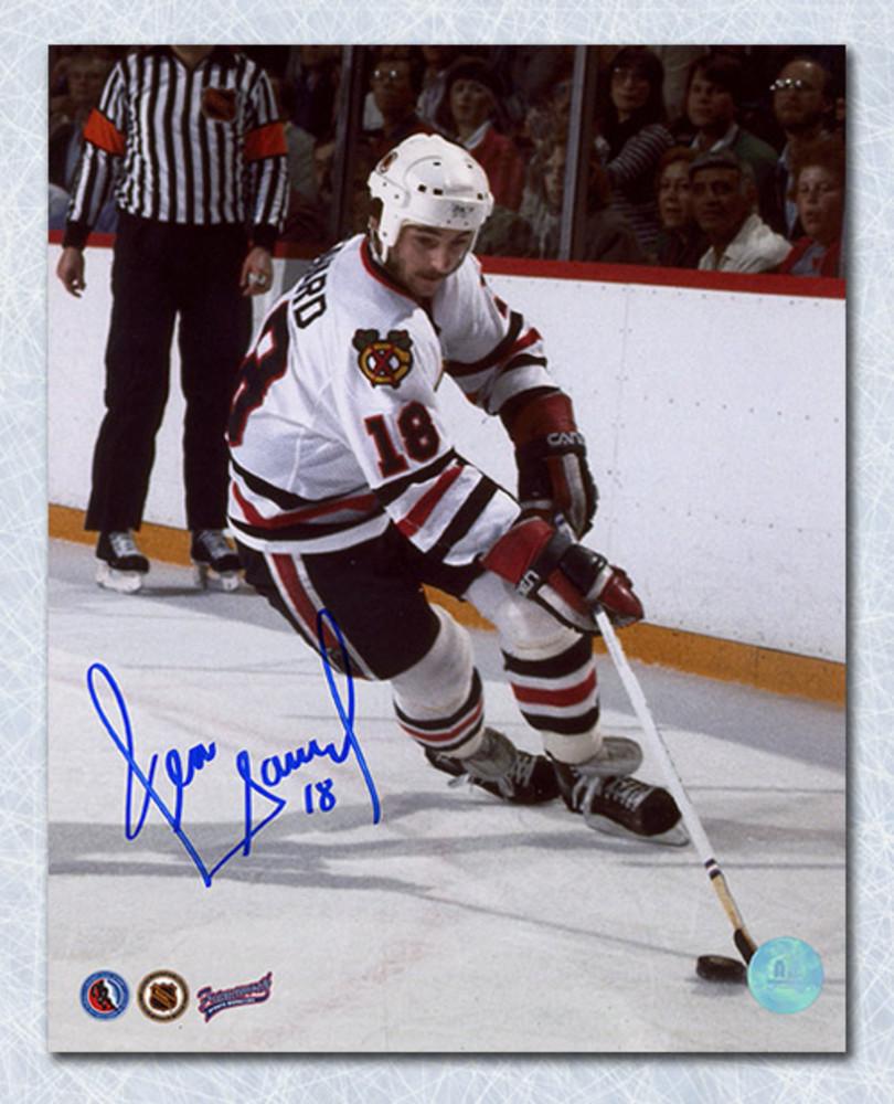 Denis Savard Chicago Blackhawks Autographed Playmaker 8x10 Photo