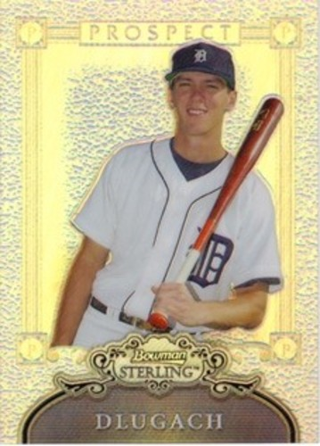 Photo of 2006 Bowman Sterling Prospects Refractors #BD Brent Dlugach
