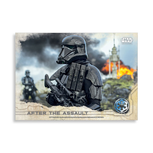 After the Assault 2016 Star Wars Rogue One Series One Base Poster - # to 99
