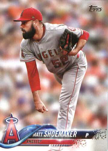 Photo of 2018 Topps #162 Matt Shoemaker