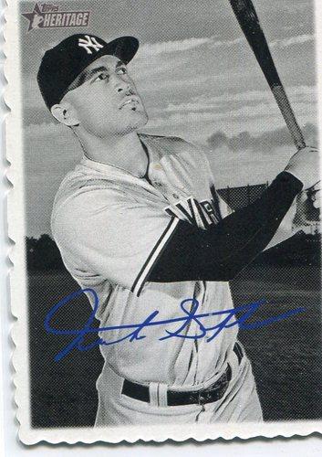 Photo of 2018 Topps Heritage '69 Topps Deckle Edge #16 Giancarlo Stanton   Facsimile autograph