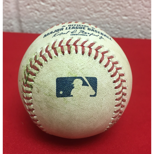 Photo of Player-Collected Baseball: Bryce Harper Home Run