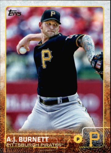 Photo of 2015 Topps #466 A.J. Burnett