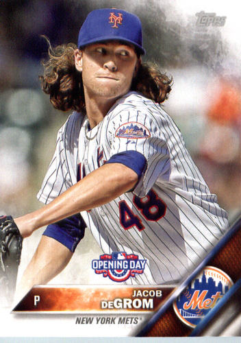 Photo of 2016 Topps Opening Day #OD68 Jacob deGrom